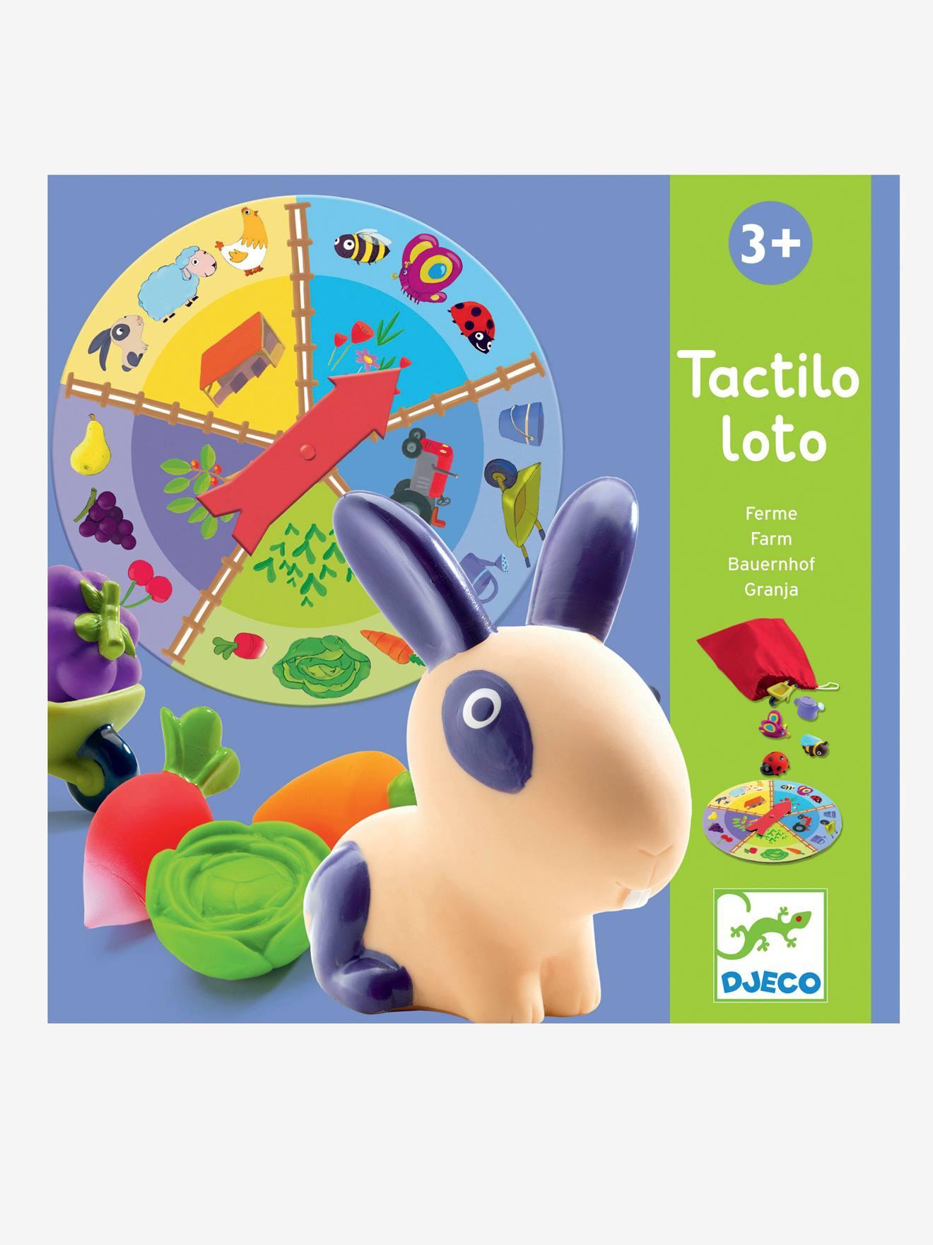 Tactilo loto ferme DJECO multicolore