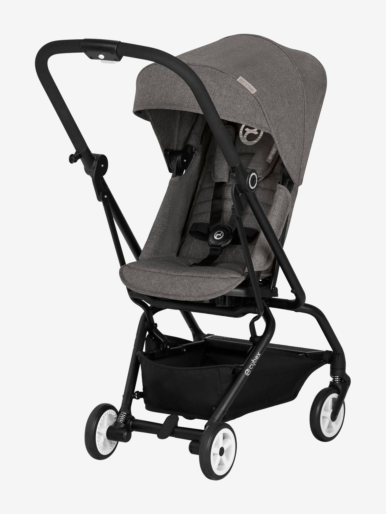 Poussette réversible CYBEX Eezy S Twist gris clair (manhattan grey