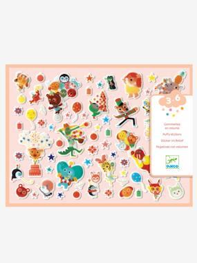 Gommettes des petits «La fête» DJECO multicolore