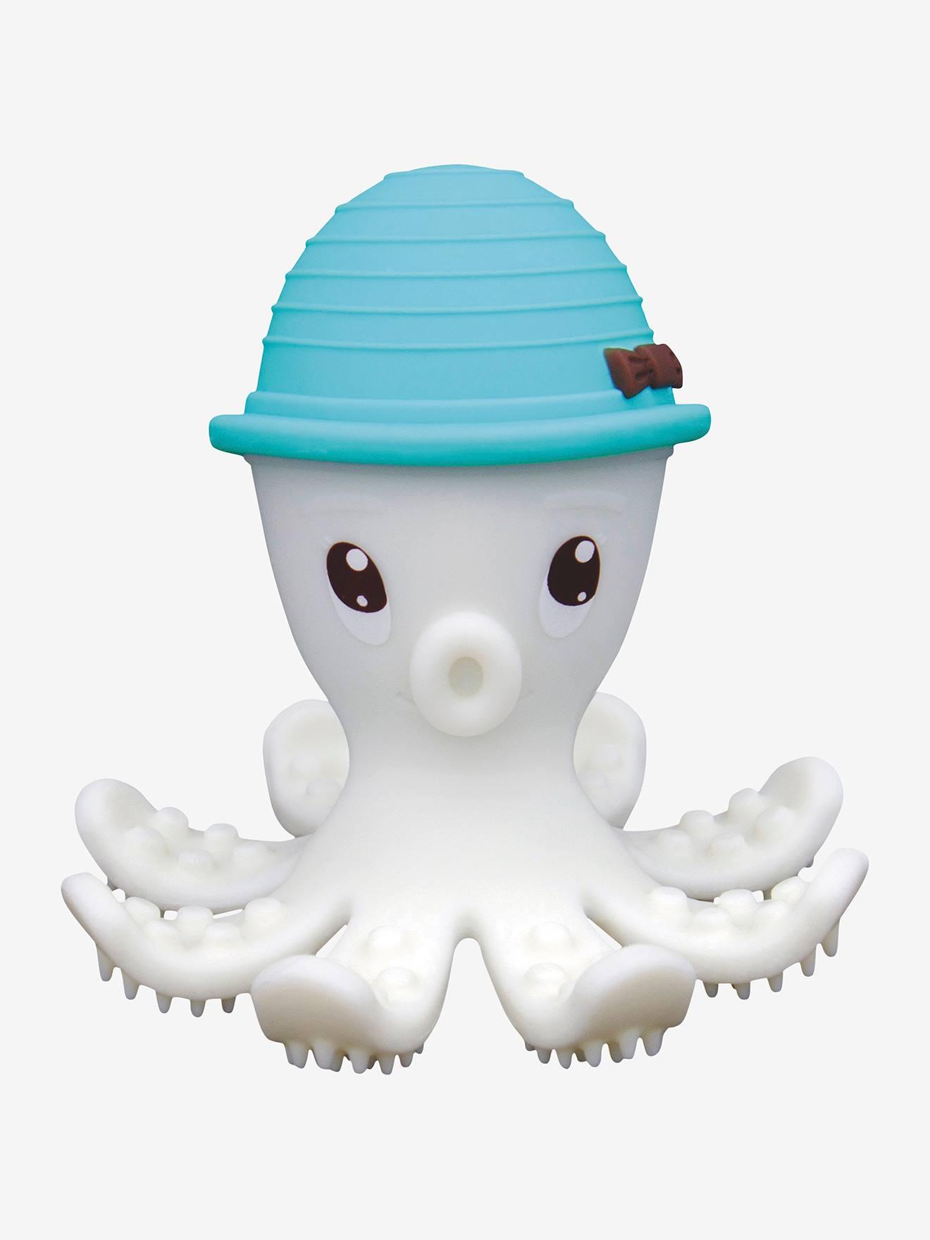 Jouet de dentition Bonnie la pieuvre Baby to love bleu