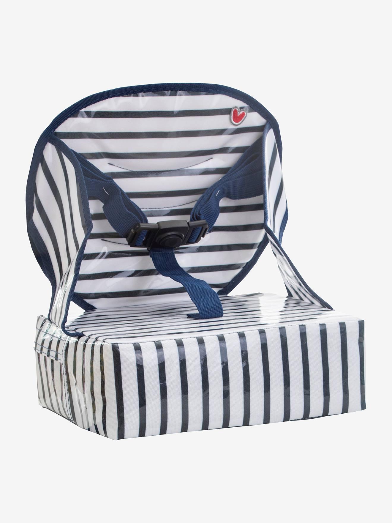 Rehausseur de chaise Easy up BABY TO LOVE rayé bleu