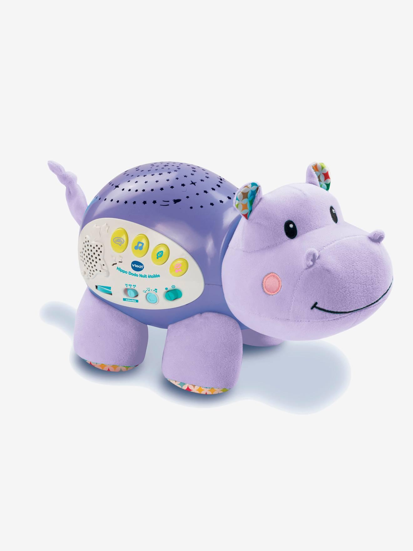 Hippo dodo nuit étoilée VTECH violet