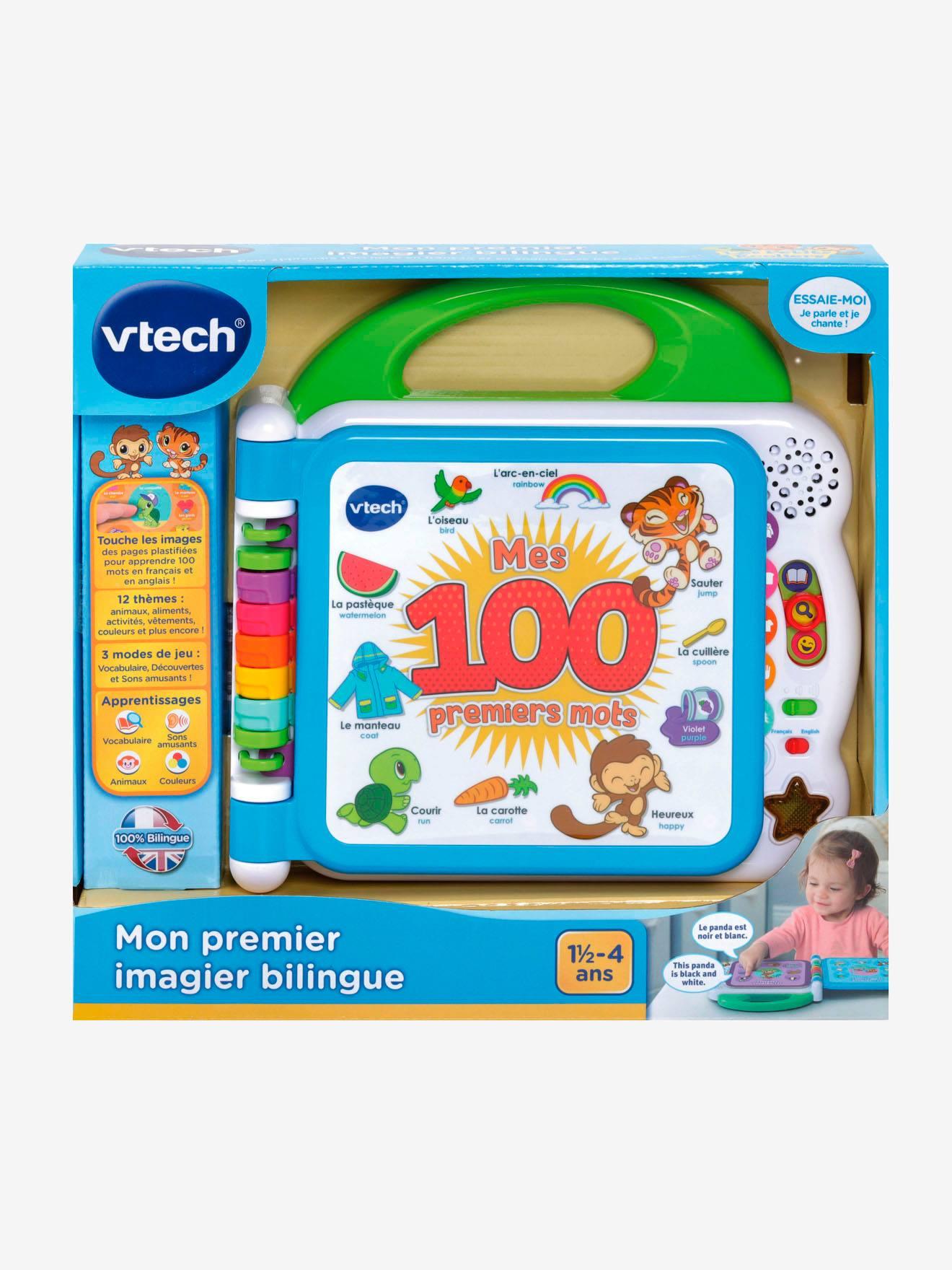 Mon Premier Imagier Bilingue Vtech Blanc Vtech