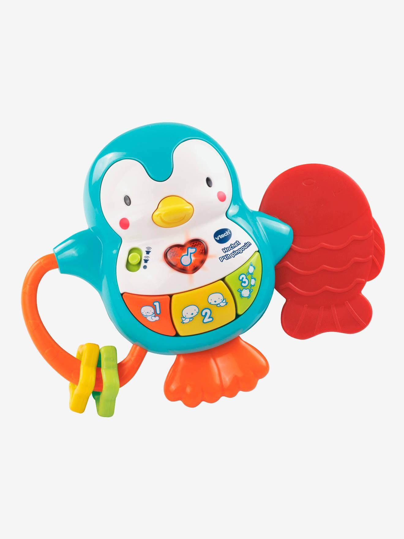Hochet p'tit pingouin VTECH multicolore