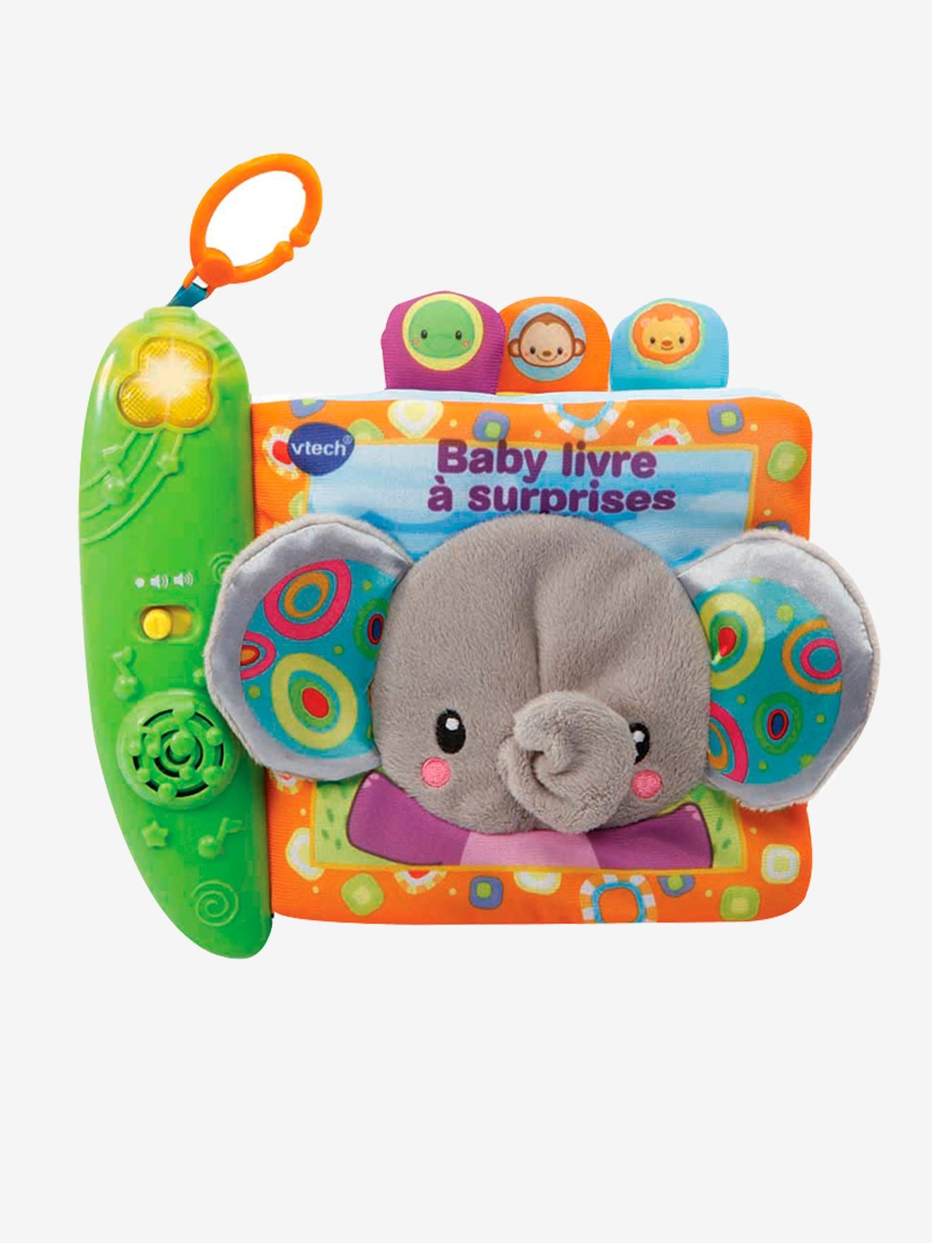 Baby livre à surprises VTECH multicolore