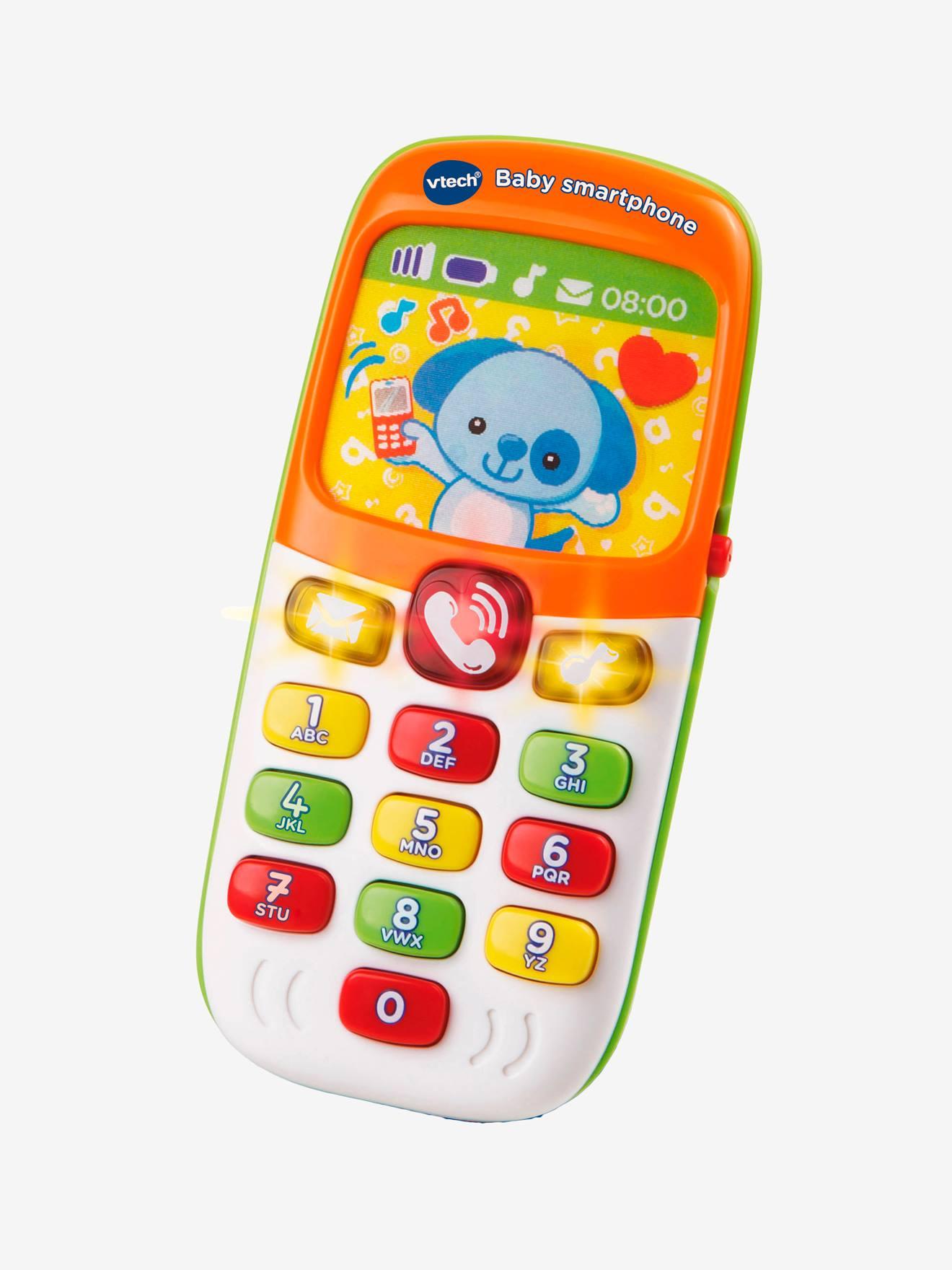 Baby smartphone bilingue VTECH orange
