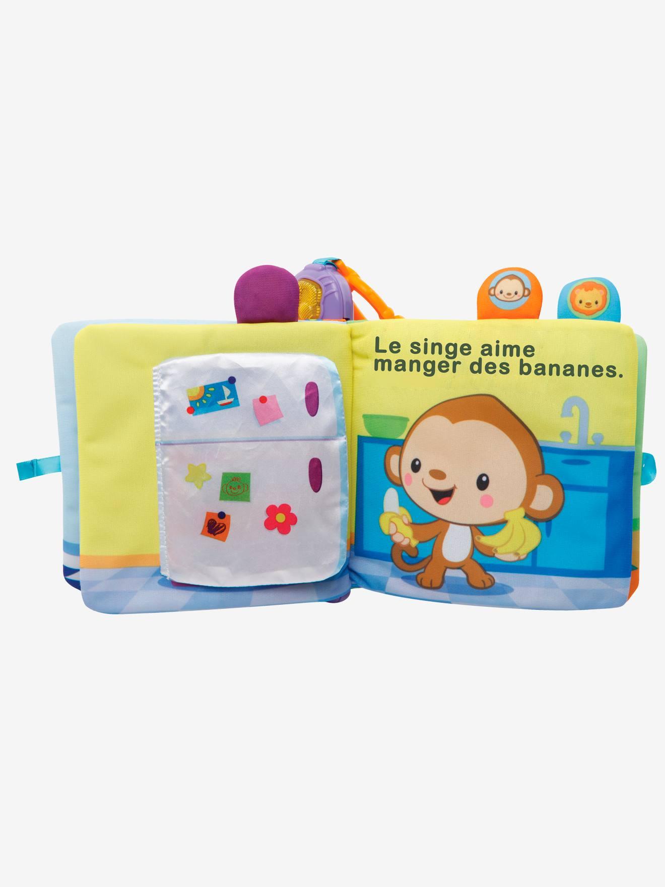 Baby Livre A Surprises Vtech Multicolore Vtech