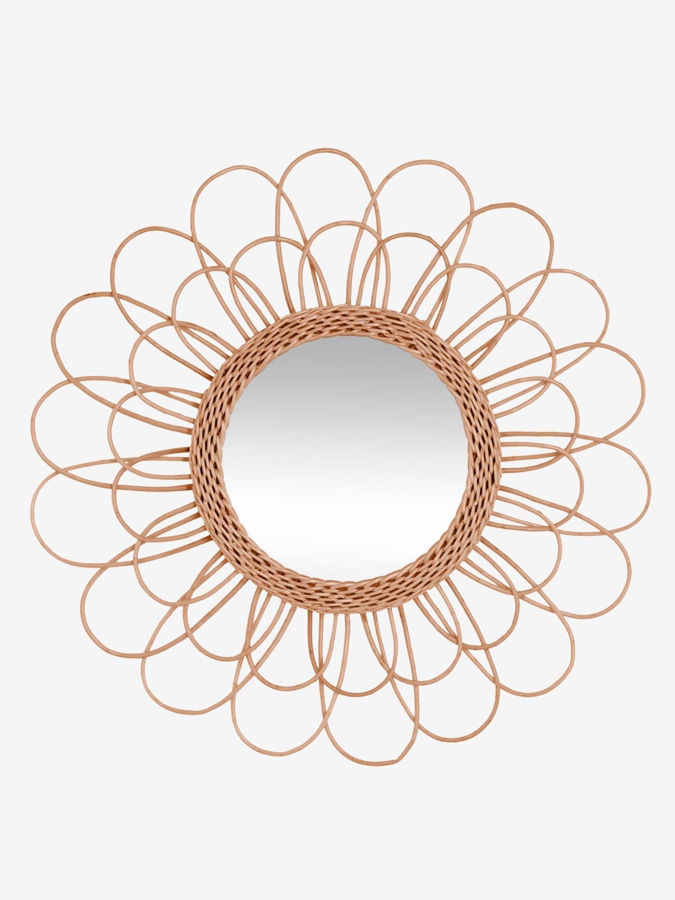 Rangement Et Décoration Décoration Miroir Miroir En Rotin Hélios