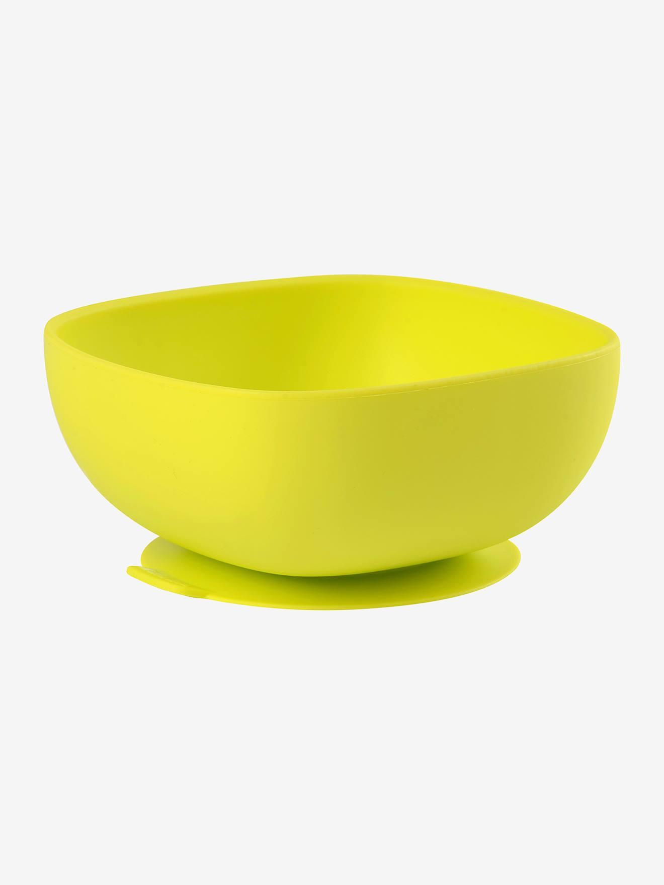 Bol en silicone avec ventouse BEABA vert