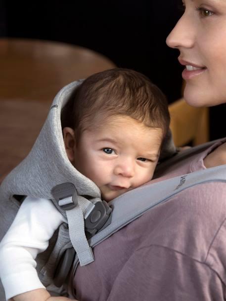 Porte-bébé Mini BABYBJORN GRIS CLAIR+GRIS FONCE 6 - vertbaudet enfant 9c5c18404a2