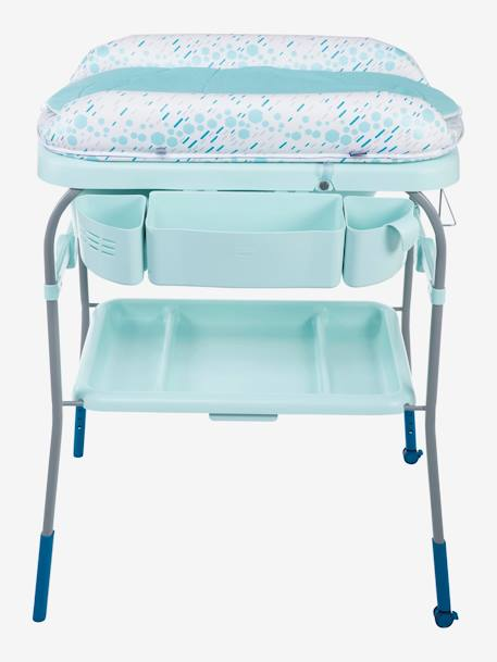 Combi bain-change Cuddle & Bubble CHICCO Cool grey+Dusty green+OCEAN 13 - vertbaudet enfant