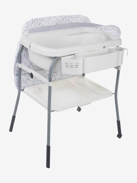 Combi bain-change Cuddle & Bubble CHICCO Cool grey+Dusty green+OCEAN 3 - vertbaudet enfant
