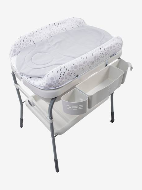 Combi bain-change Cuddle & Bubble CHICCO Cool grey+Dusty green+OCEAN 2 - vertbaudet enfant