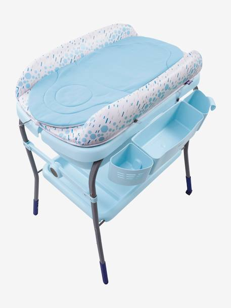 Combi bain-change Cuddle & Bubble CHICCO Cool grey+Dusty green+OCEAN 17 - vertbaudet enfant