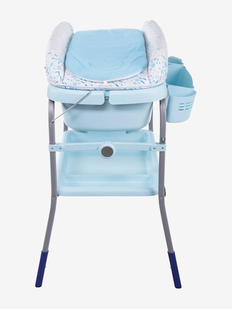 Combi bain-change Cuddle & Bubble CHICCO Cool grey+Dusty green+OCEAN 19 - vertbaudet enfant