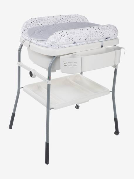 Combi bain-change Cuddle & Bubble CHICCO Cool grey+Dusty green+OCEAN 1 - vertbaudet enfant