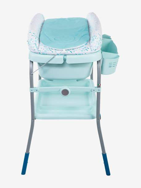 Combi bain-change Cuddle & Bubble CHICCO Cool grey+Dusty green+OCEAN 14 - vertbaudet enfant