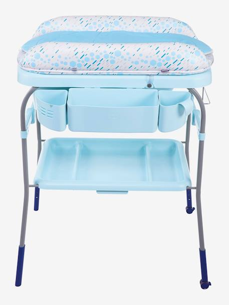 Combi bain-change Cuddle & Bubble CHICCO Cool grey+Dusty green+OCEAN 20 - vertbaudet enfant