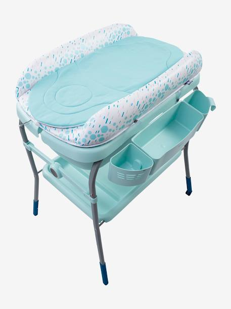 Combi bain-change Cuddle & Bubble CHICCO Cool grey+Dusty green+OCEAN 11 - vertbaudet enfant
