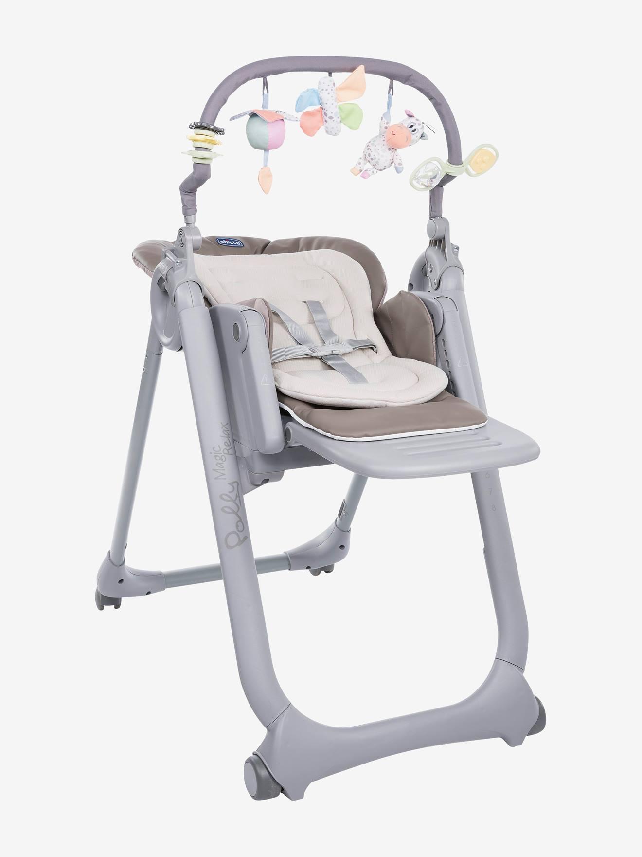 chaise haute bebe fille petit prix
