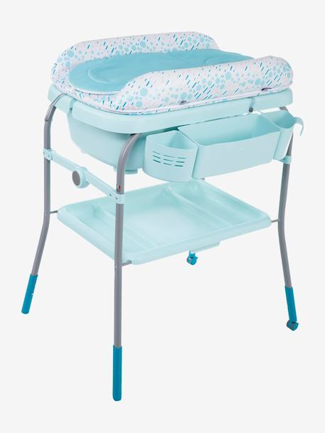Combi bain-change Cuddle & Bubble CHICCO Cool grey+Dusty green+OCEAN 9 - vertbaudet enfant