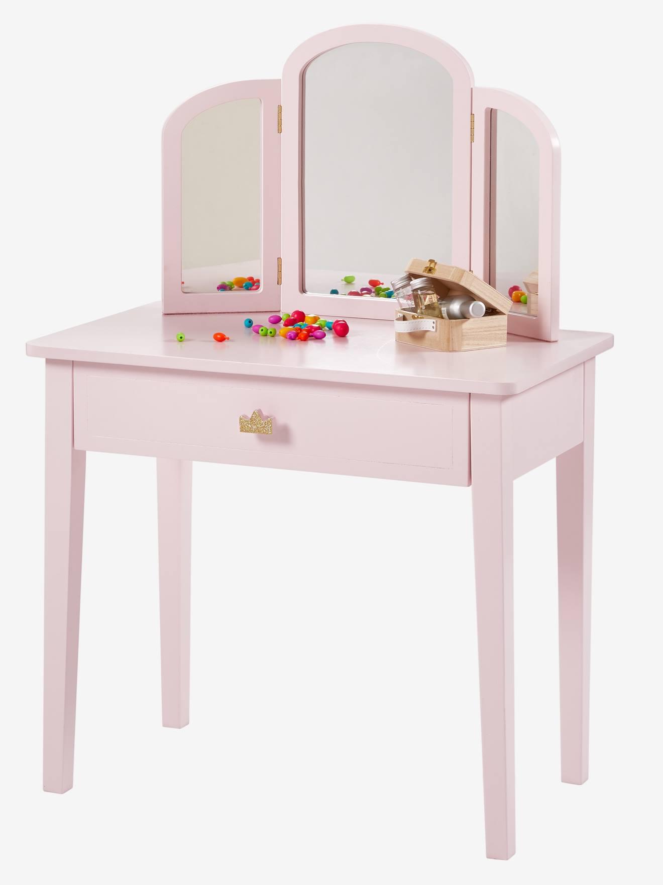 Commode avec Table de langer bebe bois rangement pour chambre enfant PRINCESS 68