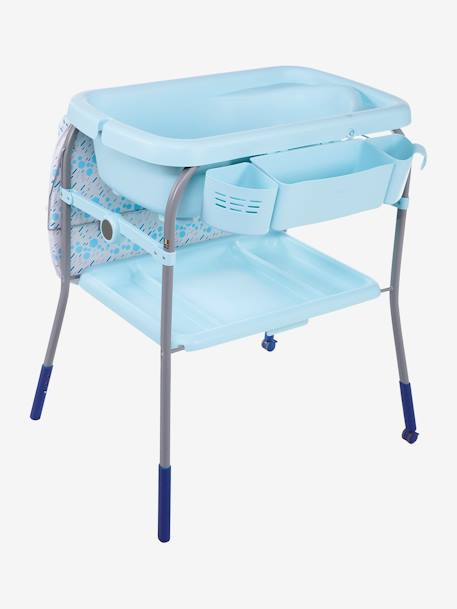 Combi bain-change Cuddle & Bubble CHICCO Cool grey+Dusty green+OCEAN 23 - vertbaudet enfant