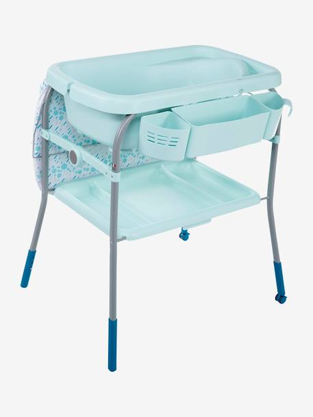 Combi bain-change Cuddle & Bubble CHICCO Cool grey+Dusty green+OCEAN 15 - vertbaudet enfant