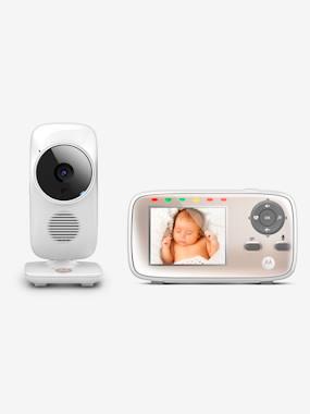 Babyphone vidéo wi-fi MBP 667 MOTOROLA blanc
