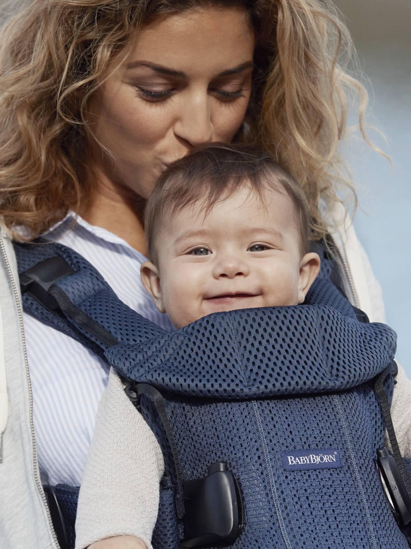 Porte Bébé Physiologique Ventral Dorsal One Air Babybjorn Bleu
