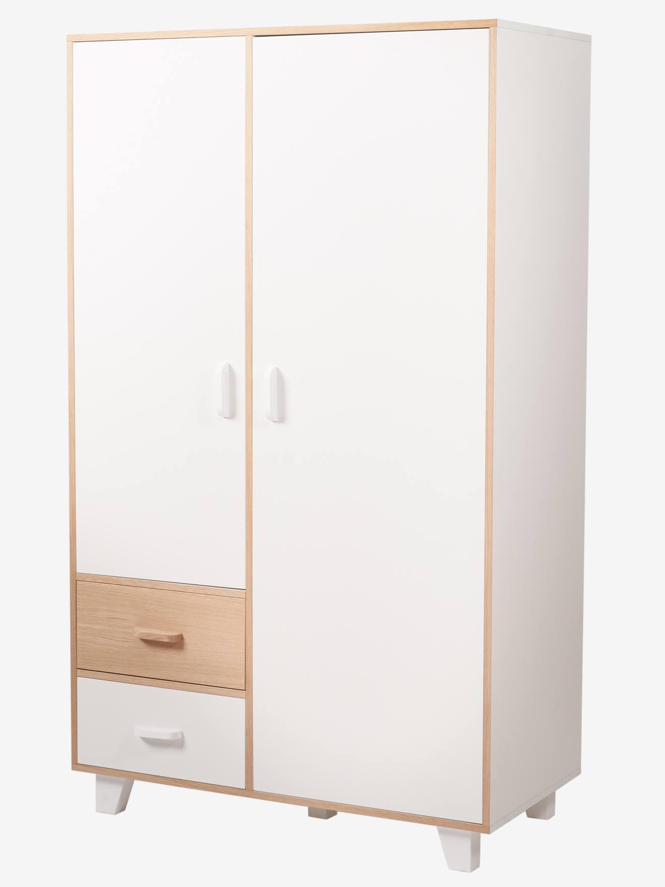 armoire 2 portes + 2 tiroirs ligne hopla