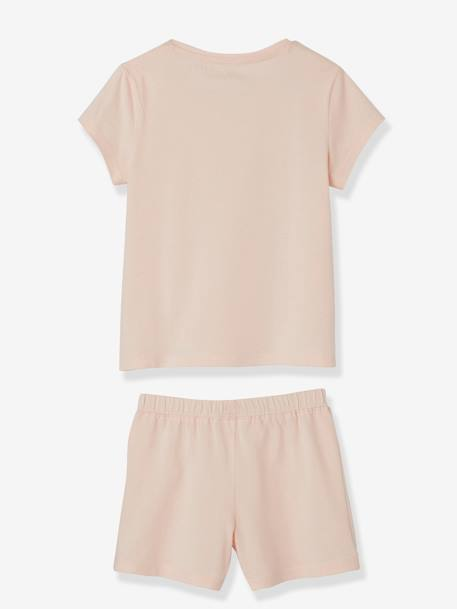 Lot de 2 pyjashorts fille combinables LOT ROSE PALE 5 - vertbaudet enfant
