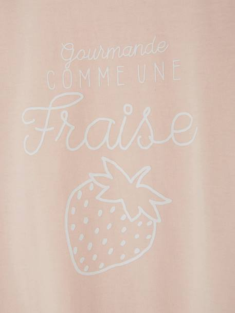Lot de 2 pyjashorts fille combinables LOT ROSE PALE 7 - vertbaudet enfant
