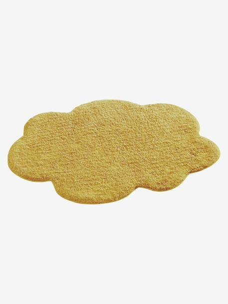 Tapis Nuage jaune moutarde - Vertbaudet