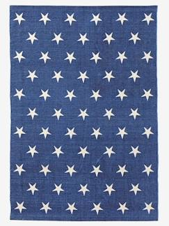 Ambiance american boy-Tapis denim Constellation