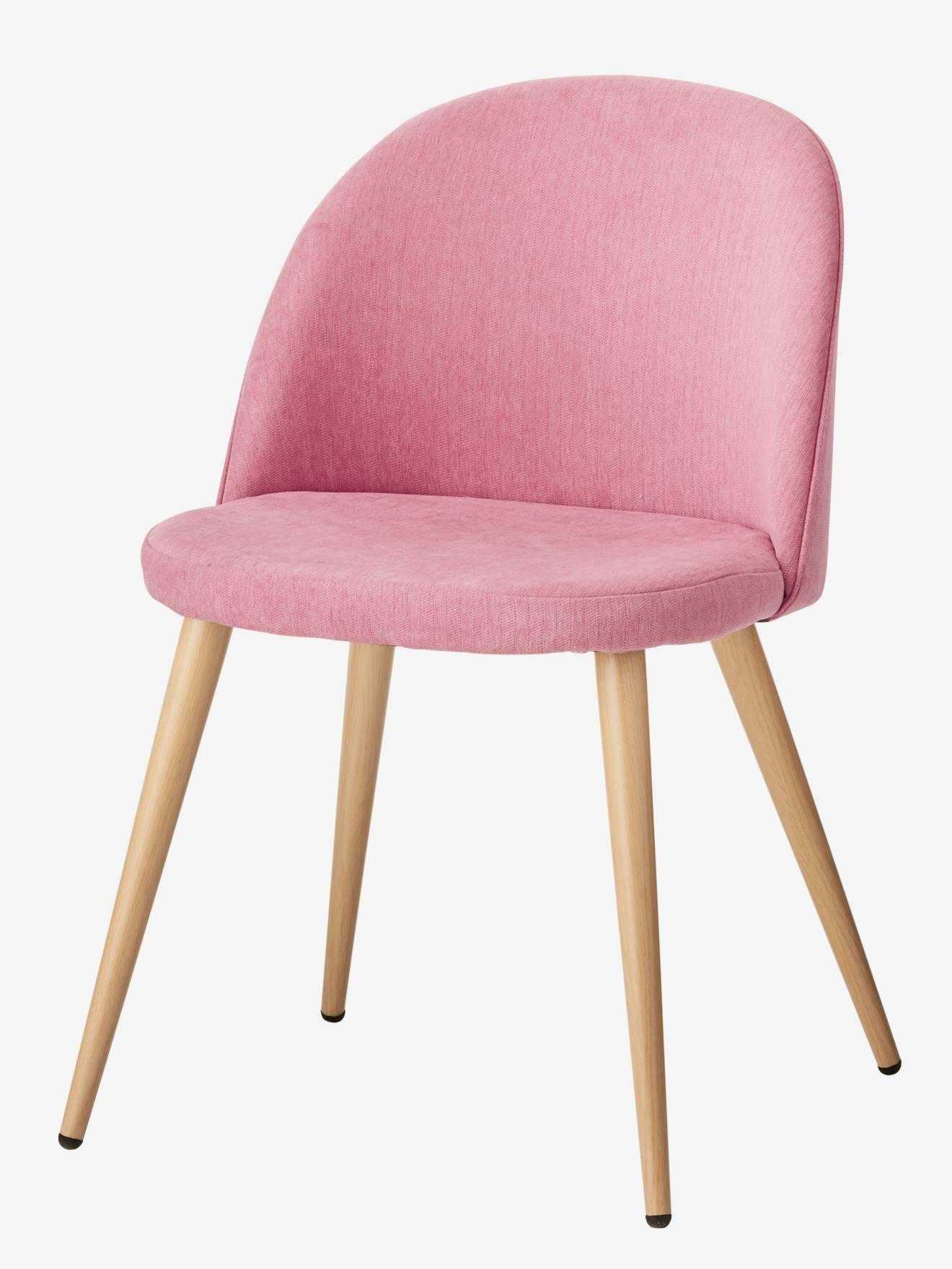 Ma Petite Chaise Nantes chaise de bureau primaire bubble rose - vertbaudet