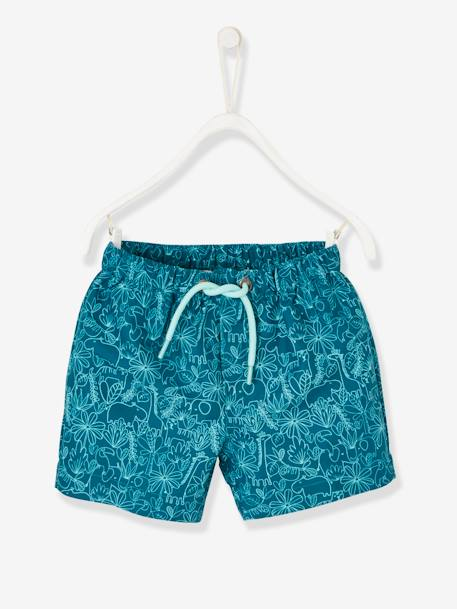 plus de photos ac16e 6d6cf Maillot de bain short bébé lot emeraude - Vertbaudet