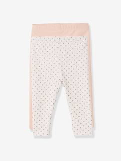 Bébé-Legging-Lot de 2 leggings longs bébé fille