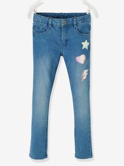 Fille-Pantalon-Jean slim fille Morphologik tour de hanches Large