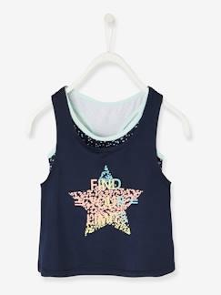Tee shirt enfant fille - Magasin de T-shirts filles - vertbaudet 96385aafb8f