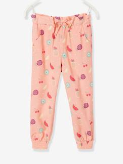 Collection maternelle-Fille-Pantalon fluide fille