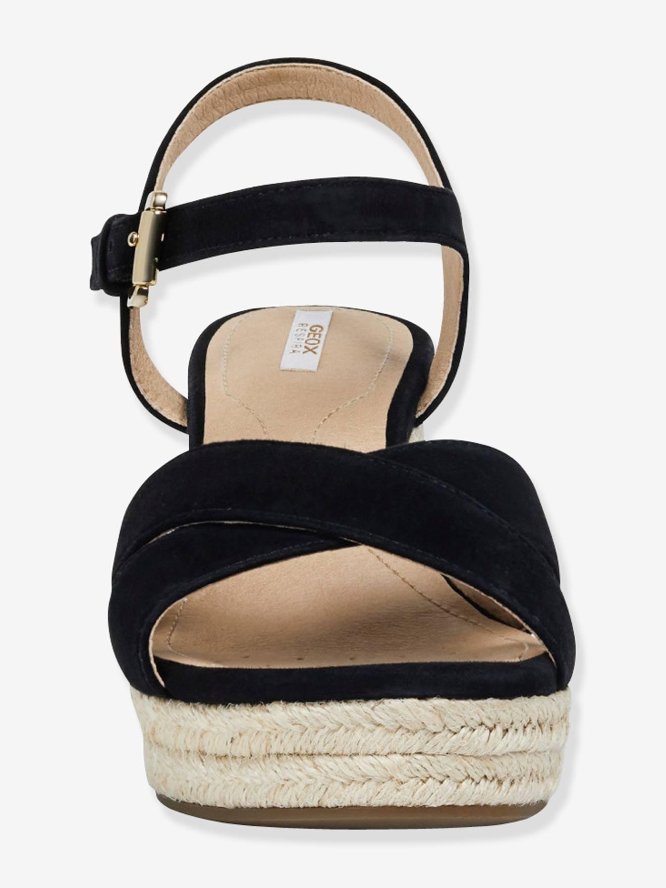 Sandales à brides D SOLEIL de GEOX® noir, Future Maman