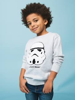 Garcon pop pe19-Pull Star Wars® en maille