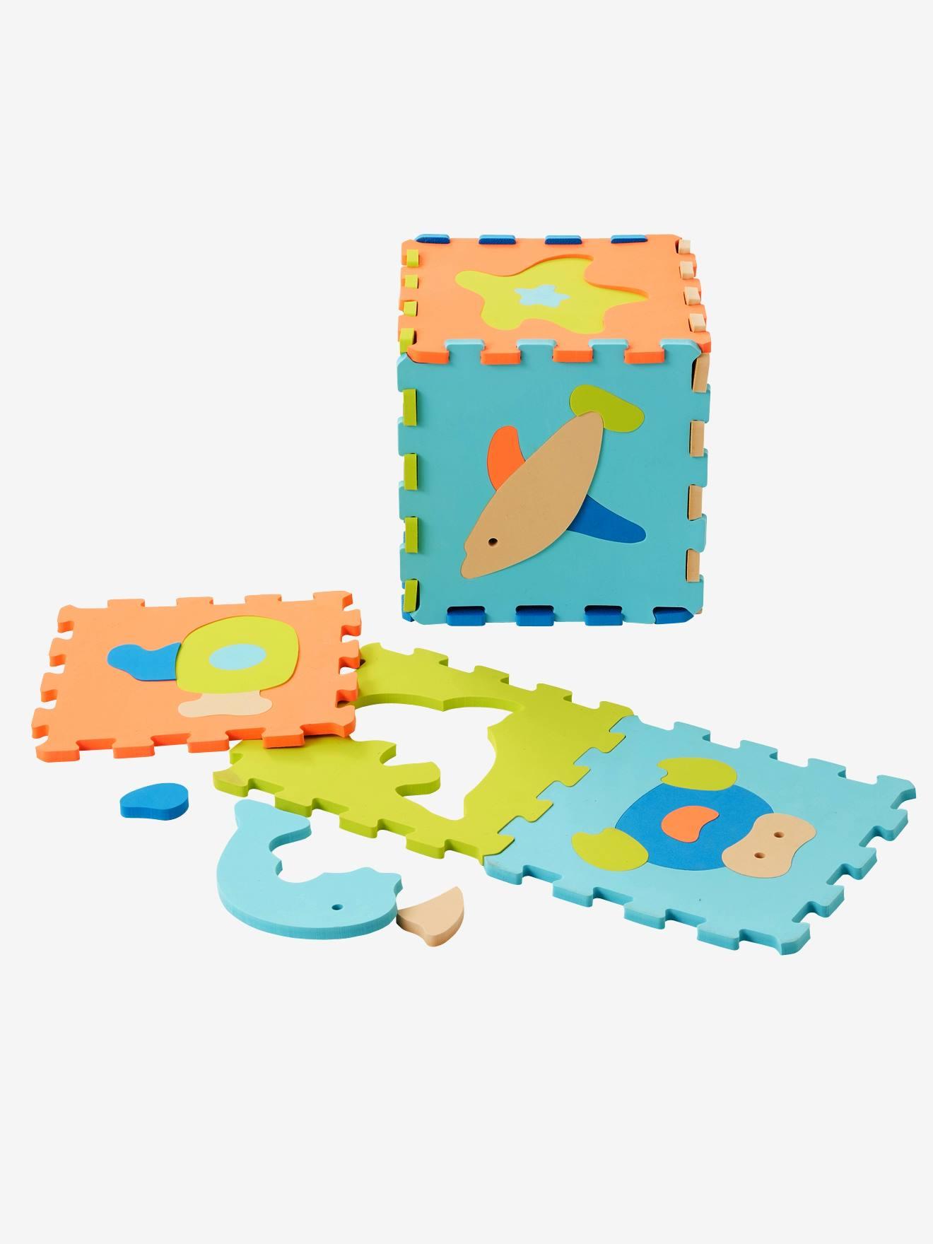 Tapis Puzzle Geant En Mousse Ocean Bleu Vertbaudet