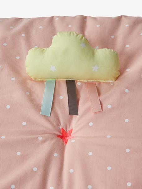 Tapis D Eveil Souple Sans Arche Sweet Fun Rose Imprime Vertbaudet