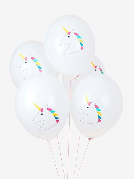 Lot de 5 ballons MY LITTLE DAY Dinosaure+Licorne+Mini felins 3 - vertbaudet enfant