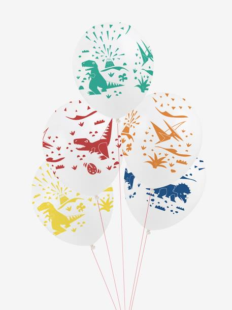 Lot de 5 ballons MY LITTLE DAY Dinosaure+Licorne+Mini felins 1 - vertbaudet enfant
