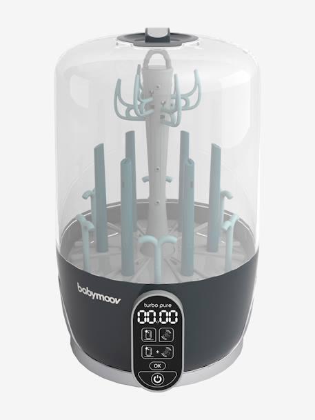 0691e603477cd Stérilisateur et sèche-biberons électrique BABYMOOV Turbo Pure GRIS 1 -  vertbaudet enfant
