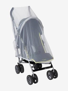 Moustiquaire poussette et lit parapluie blanc vertbaudet