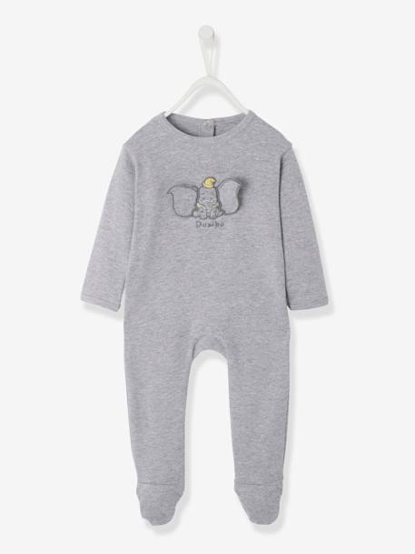 ef0071d1c04d2 Dors-bien bébé Disney motif Dumbo GRIS CLAIR CHINE 1 - vertbaudet enfant